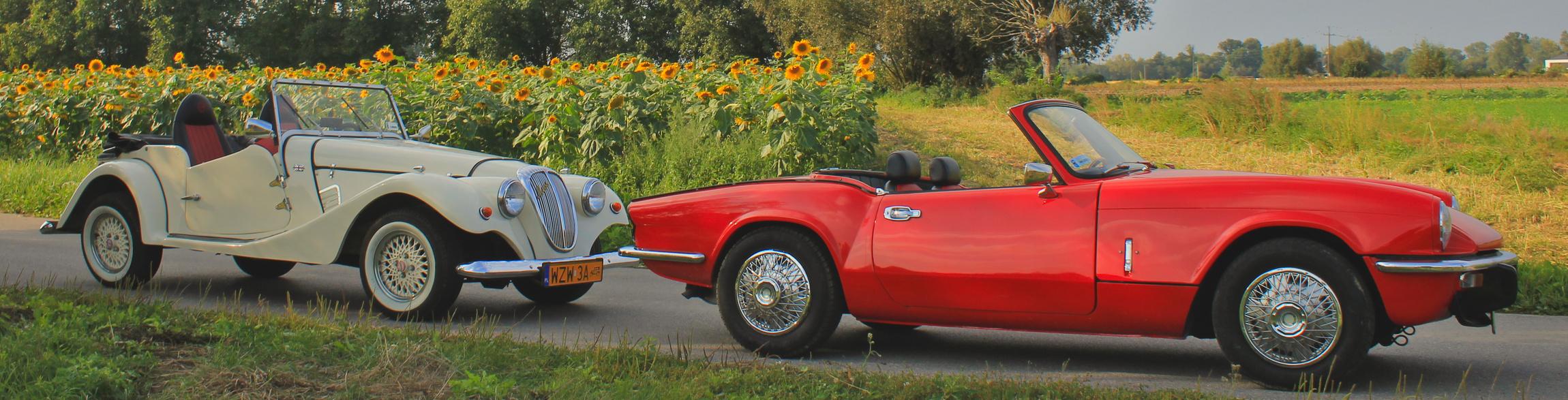 Zabytkowe kabriolety Triumph